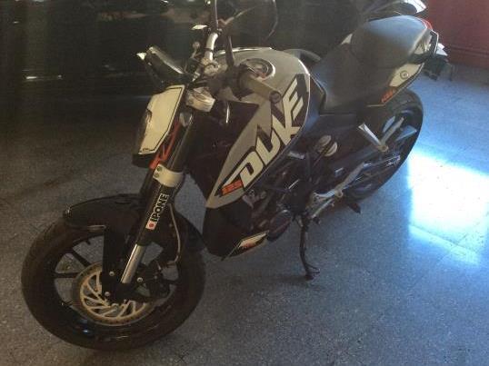 KTM 125 Duke 1500,0000