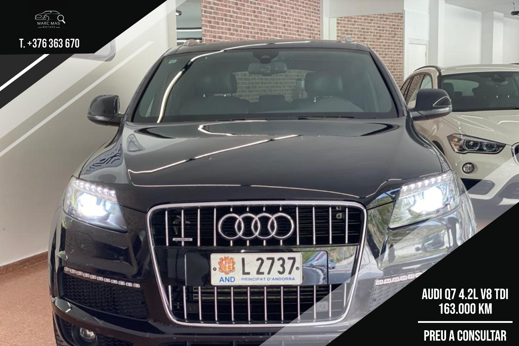 Audi - Q7 - V8 TDI   A Consultar