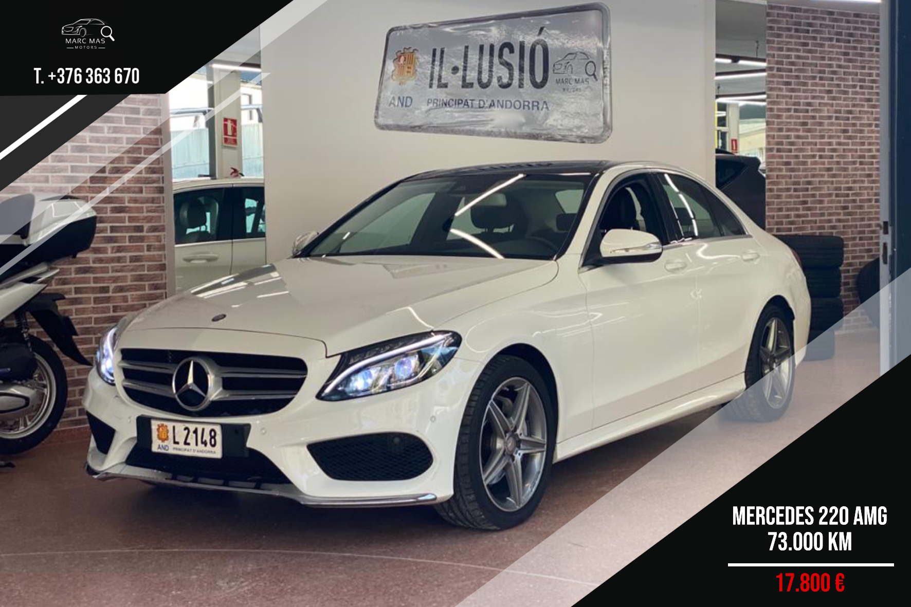 Mercedes-Benz - C 220 - PACK AMG   17.800 €
