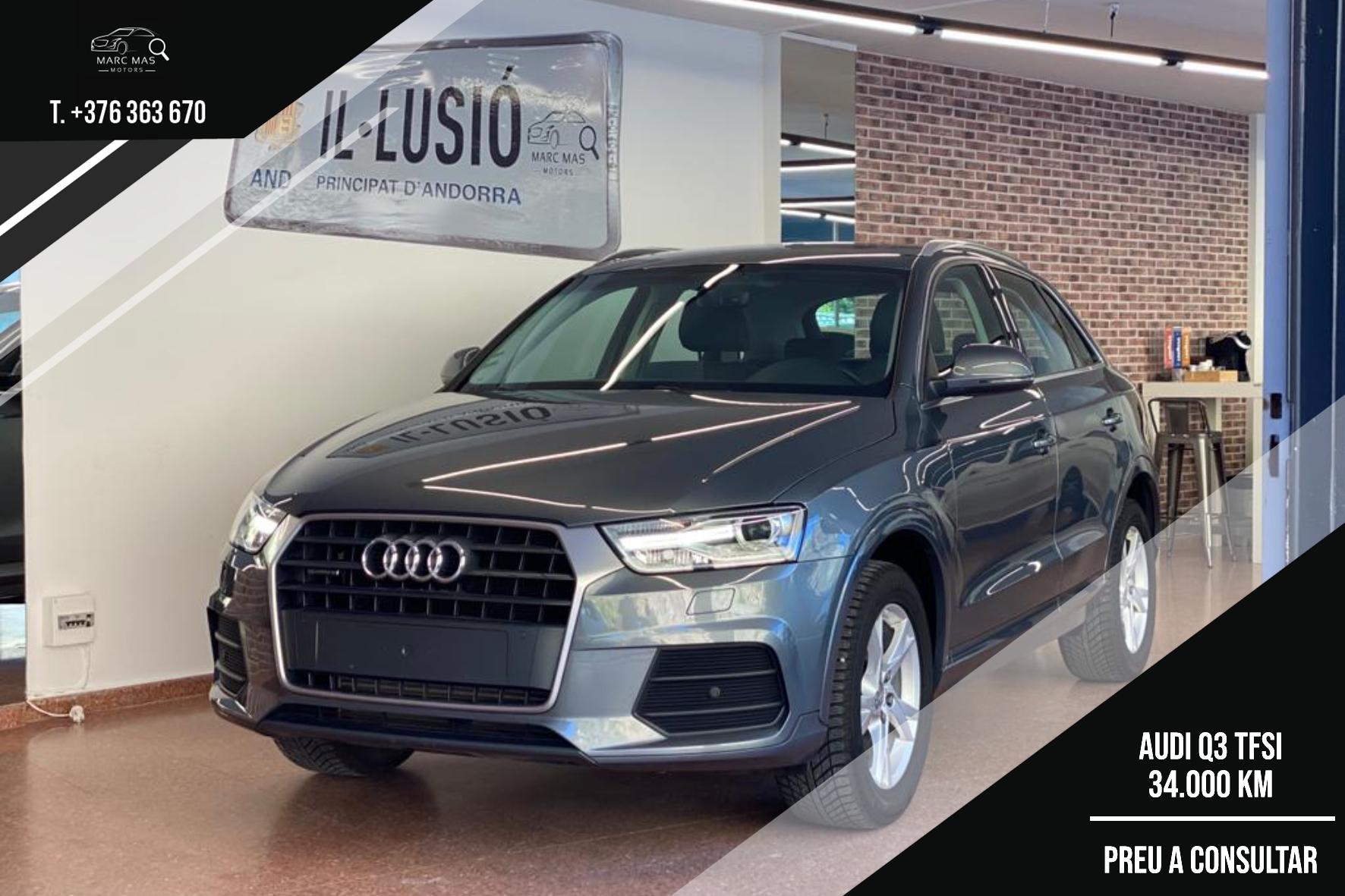 Audi - Q3 - 2.0 TSI QUATTRO 2.0 TSI QUATTRO Benzina  2016  34.000 Km