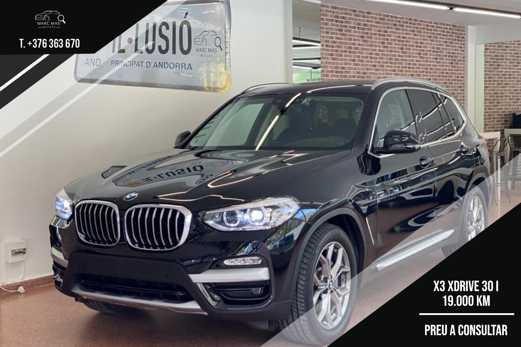 BMW - X3 - X3 XDRIVE 30I X3 XDRIVE 30I Benzina  2018  19.000 Km