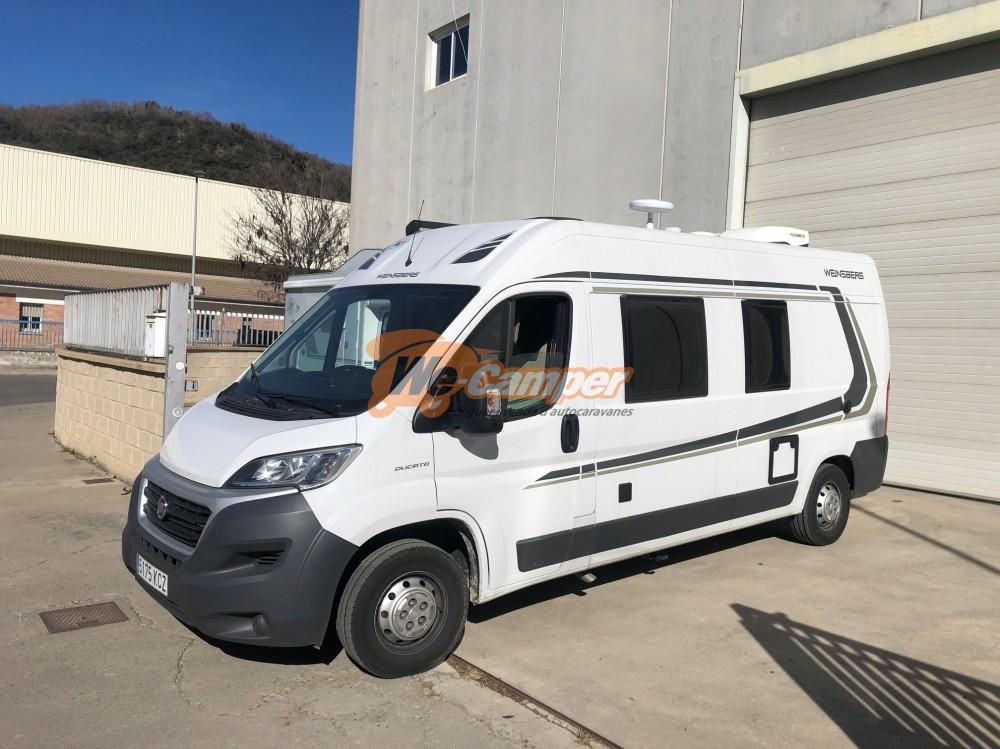 WEINSBERG - Carabus 601 MQ Dièsel  2018  24.131 Km