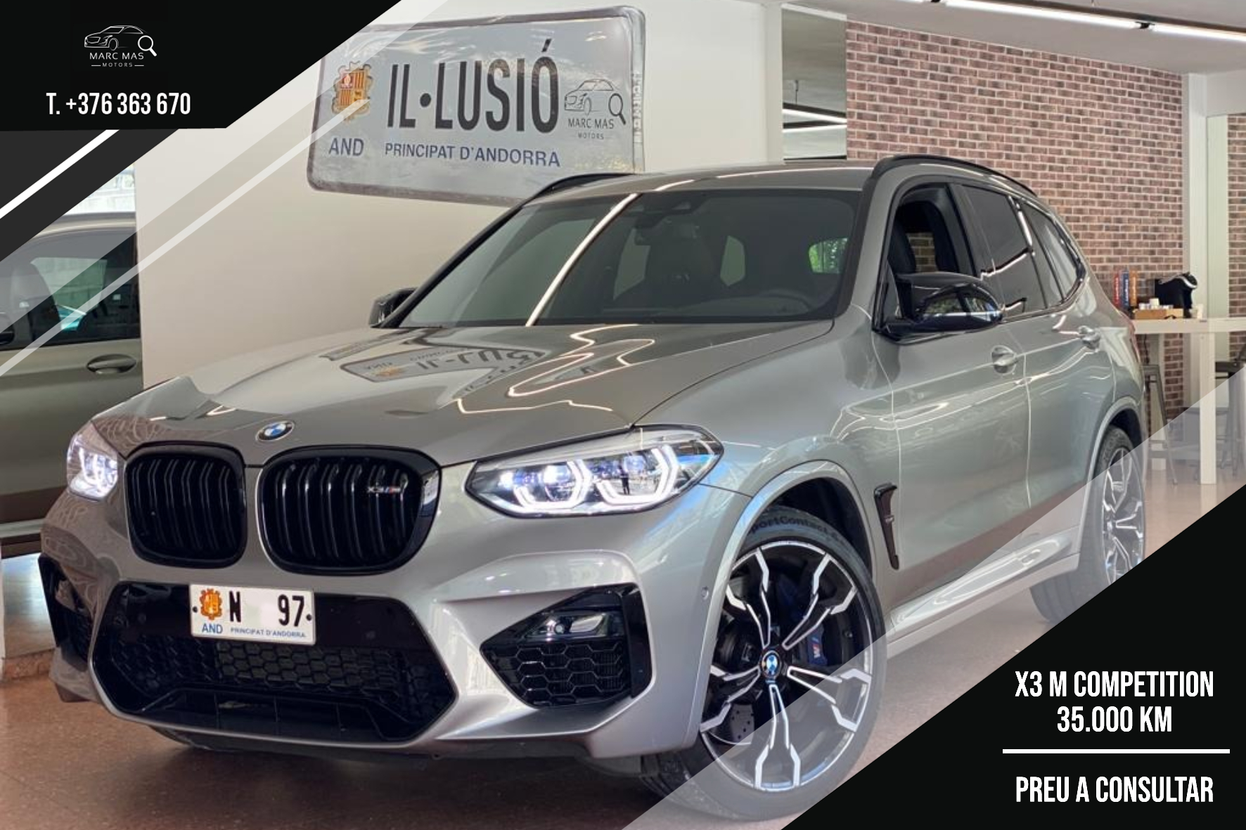 BMW - X3 - M COMPETITION   A Consultar