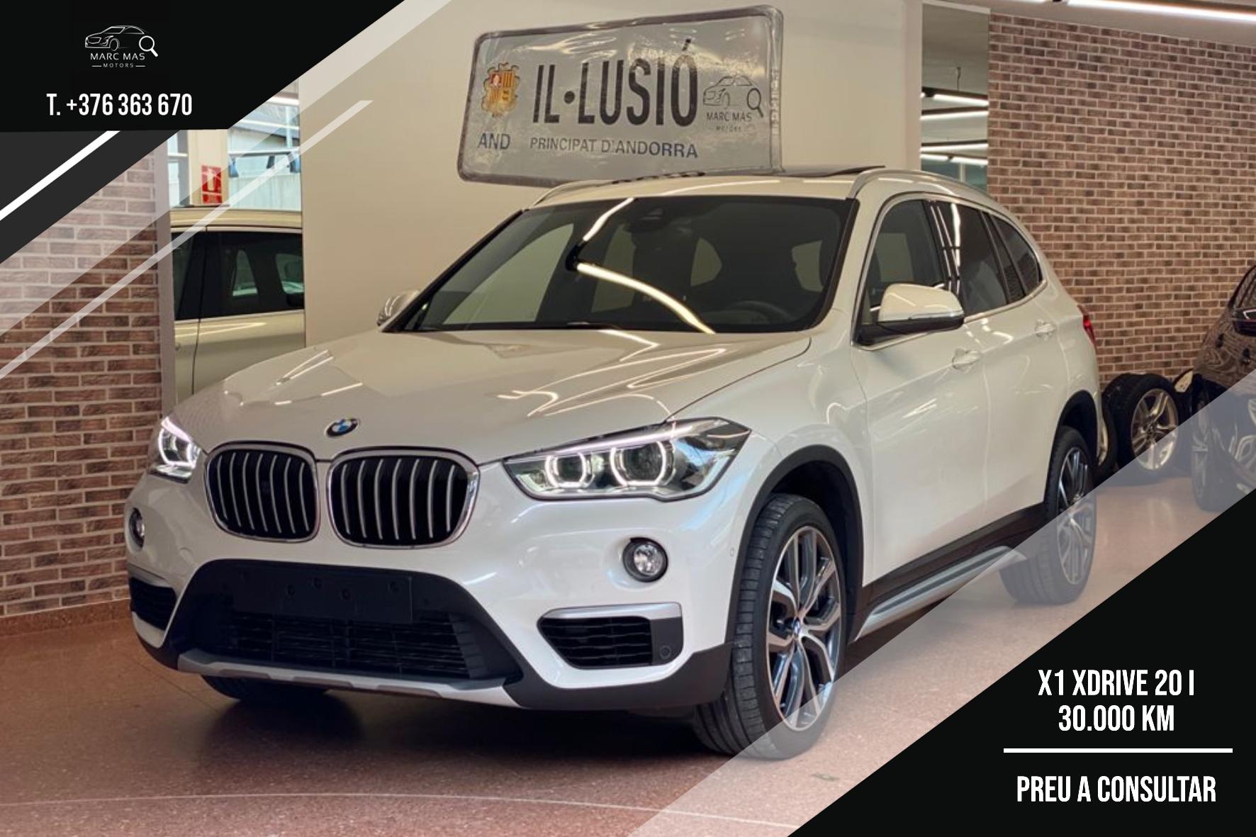 BMW - X1 - BMW X1 XDRIVE 20 I  BMW X1 XDRIVE 20 I  Benzina  2018  30.000 Km
