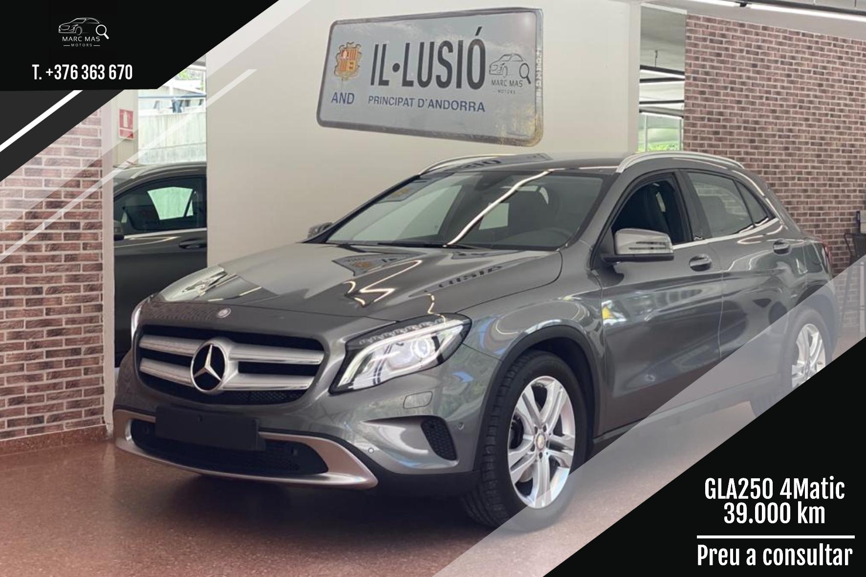 Mercedes-Benz - GLA 250 4Matic - GLA 250 4MATIC GLA 250 4MATIC Benzina  2016  39.000 Km