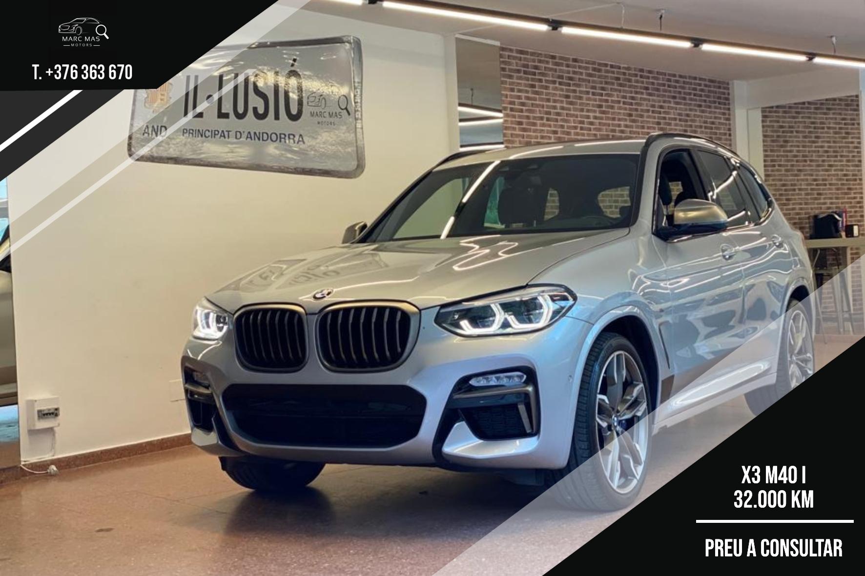 BMW - X3 - X3 M40 I X3 M40 I Benzina  2018  32.000 Km
