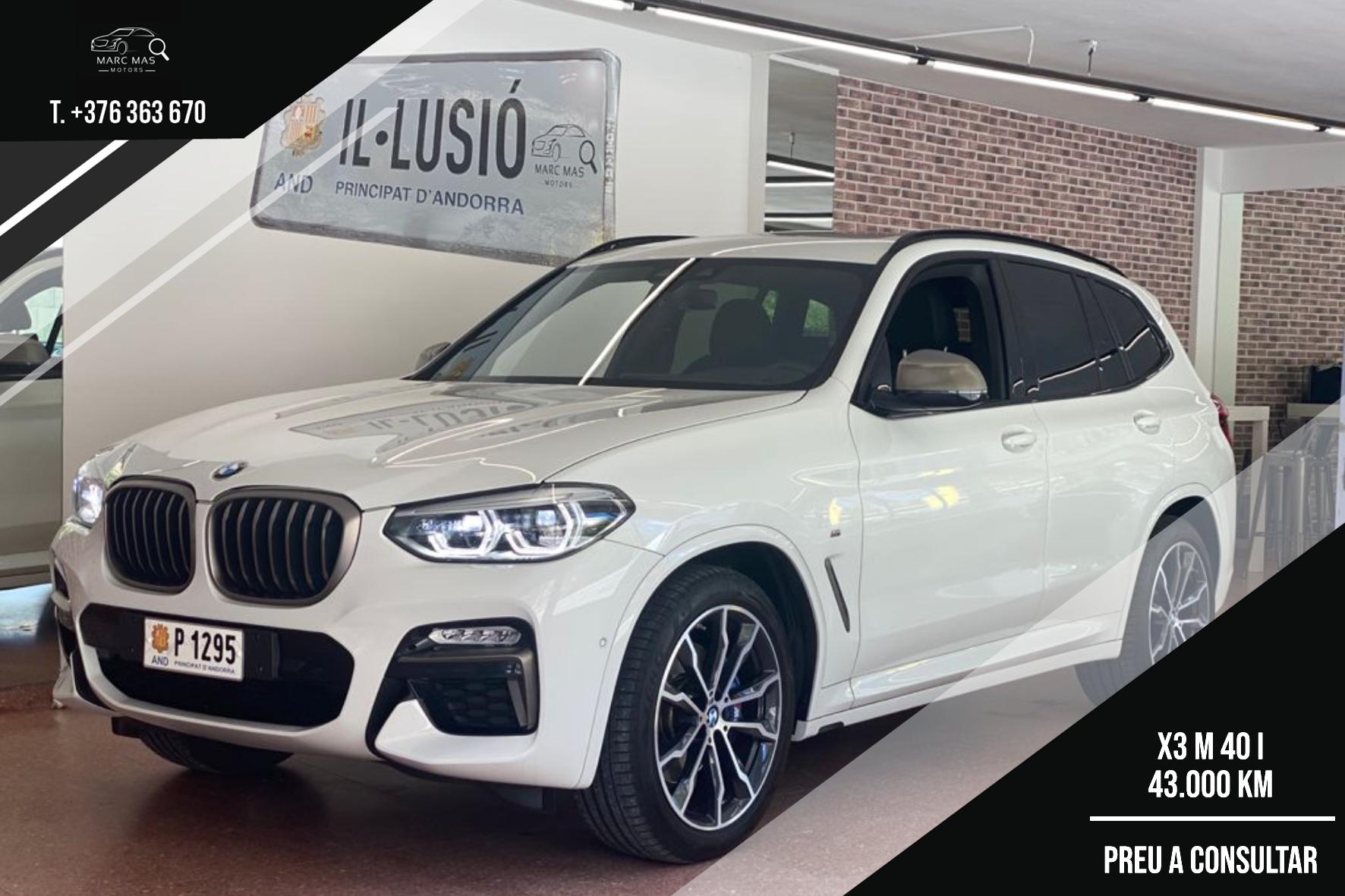 BMW - X3 - M40 I XDRIVE   A Consultar