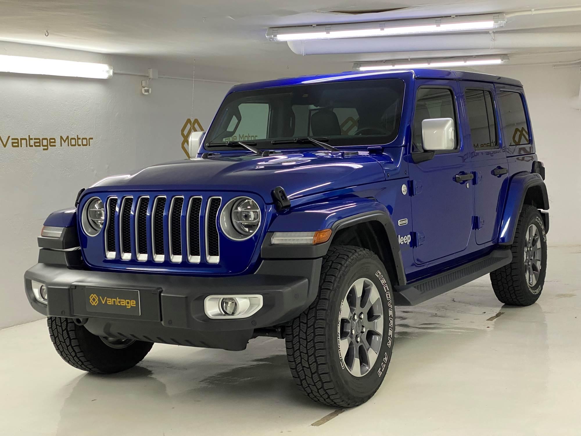 Jeep - Wrangler - OVERLAND OVERLAND Benzina  2020  18.900 Km
