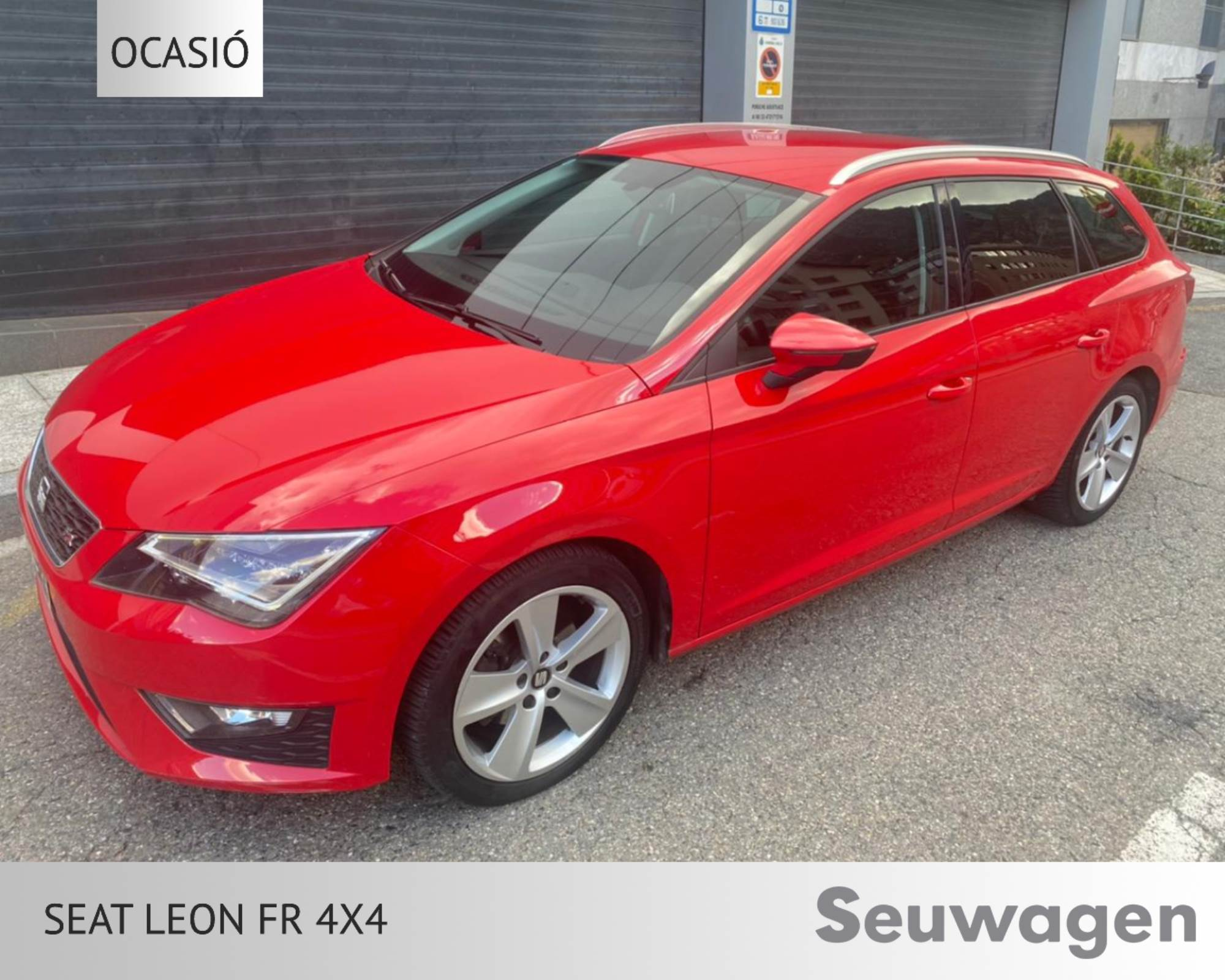 Seat - Leon - FR ST4 2.0 TDI CR 150CV FR ST4 2.0 TDI CR 150CV Dièsel  2015  120.000 Km
