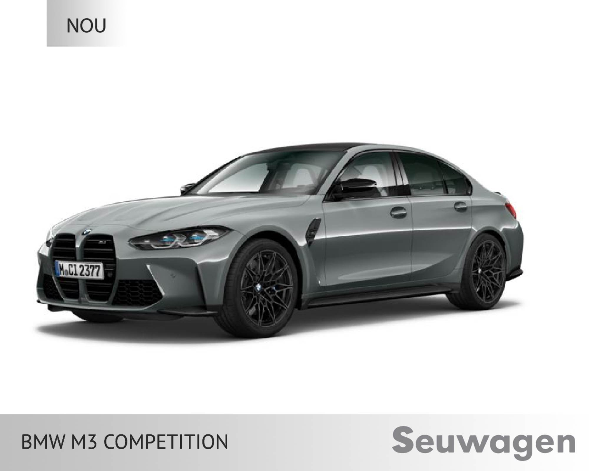 BMW - M3 Competition - XDrive XDrive Benzina  2021  00 Km