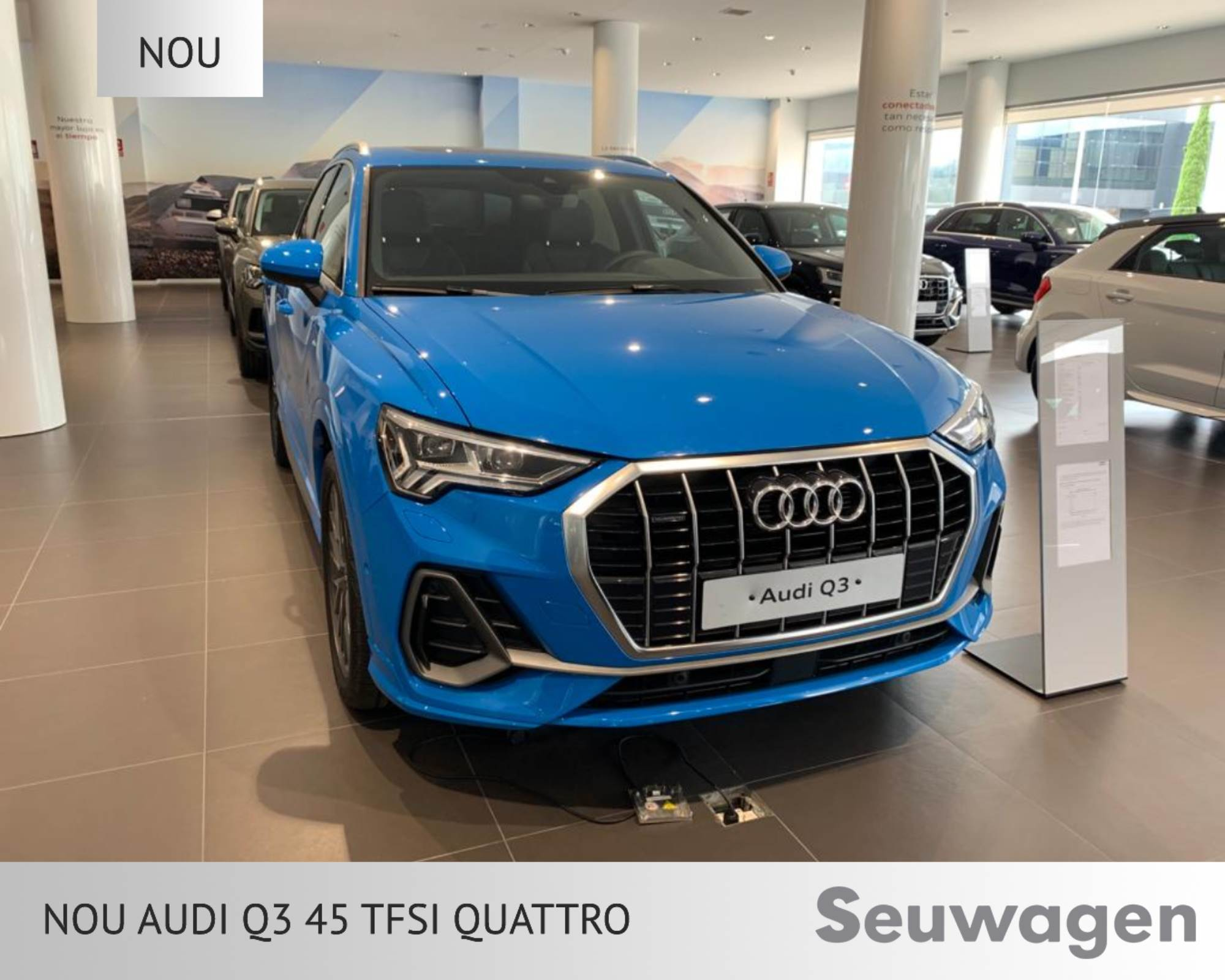 Audi - Q3 - 45 TFSI QUATTRO 45 TFSI QUATTRO Benzina  2021  00 Km