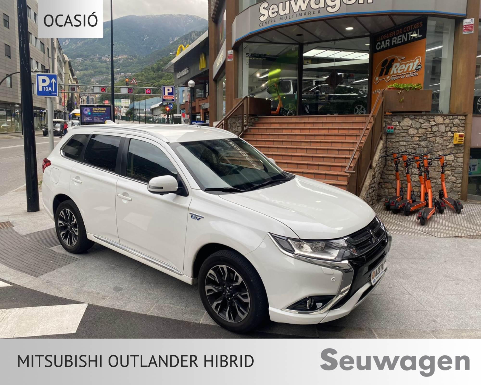 Mitsubishi - Outlander - PHEV Kaiteki PHEV Kaiteki Híbrid Endollable  2017  80.000 Km