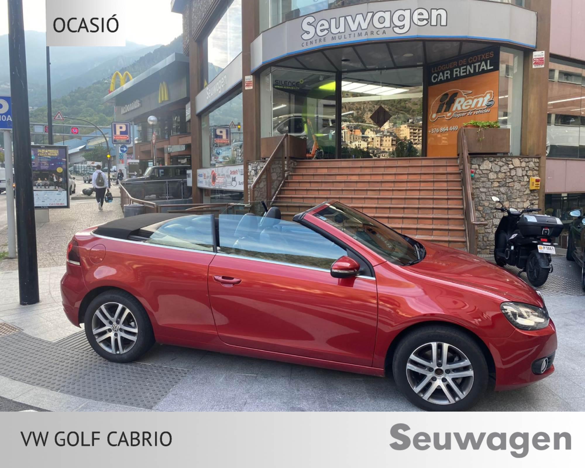 Volkswagen - Golf - Cabrio Cabrio Dièsel  2018  120.000 Km