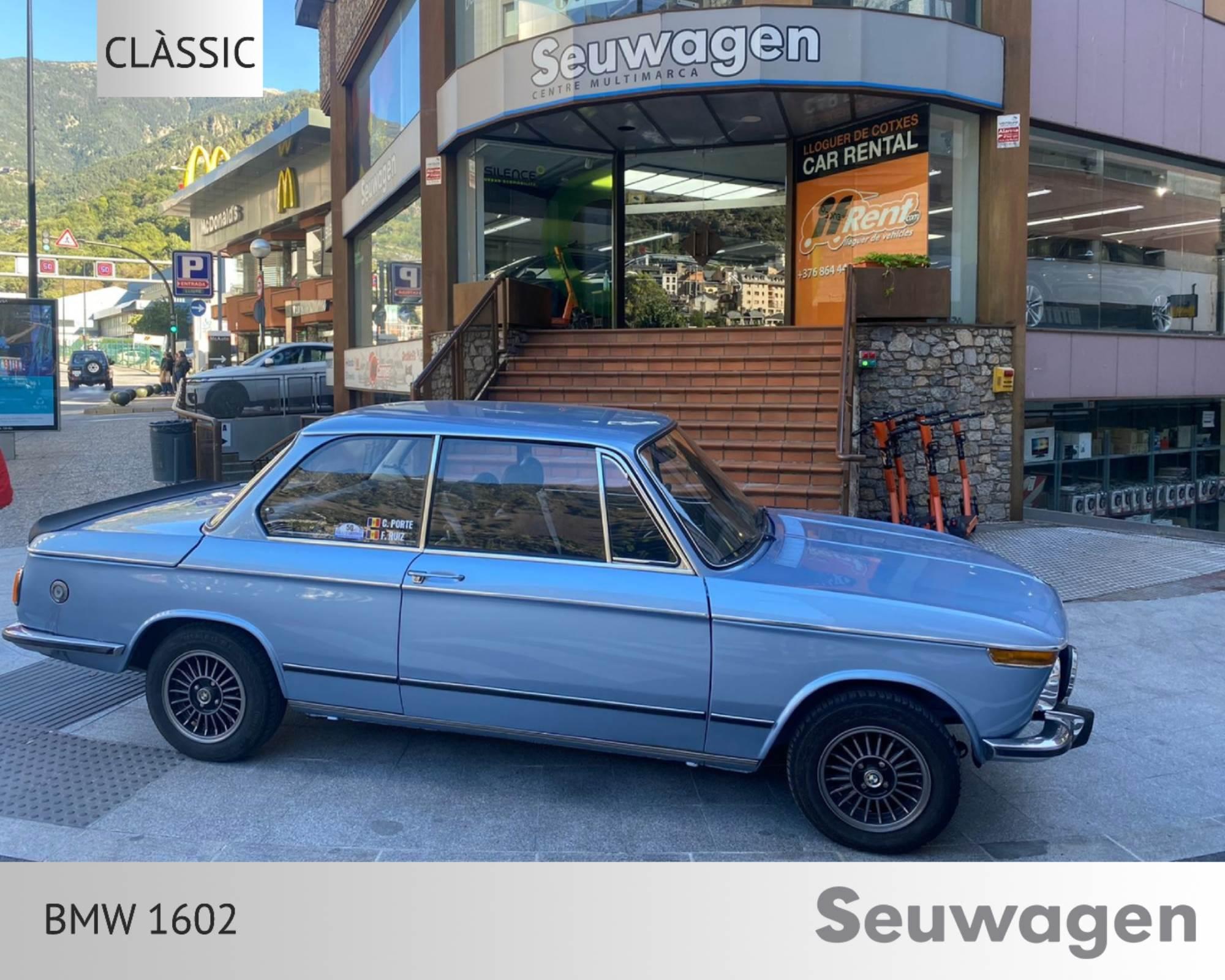 BMW - 1602 - 1602 1602 Benzina  1971  00 Km