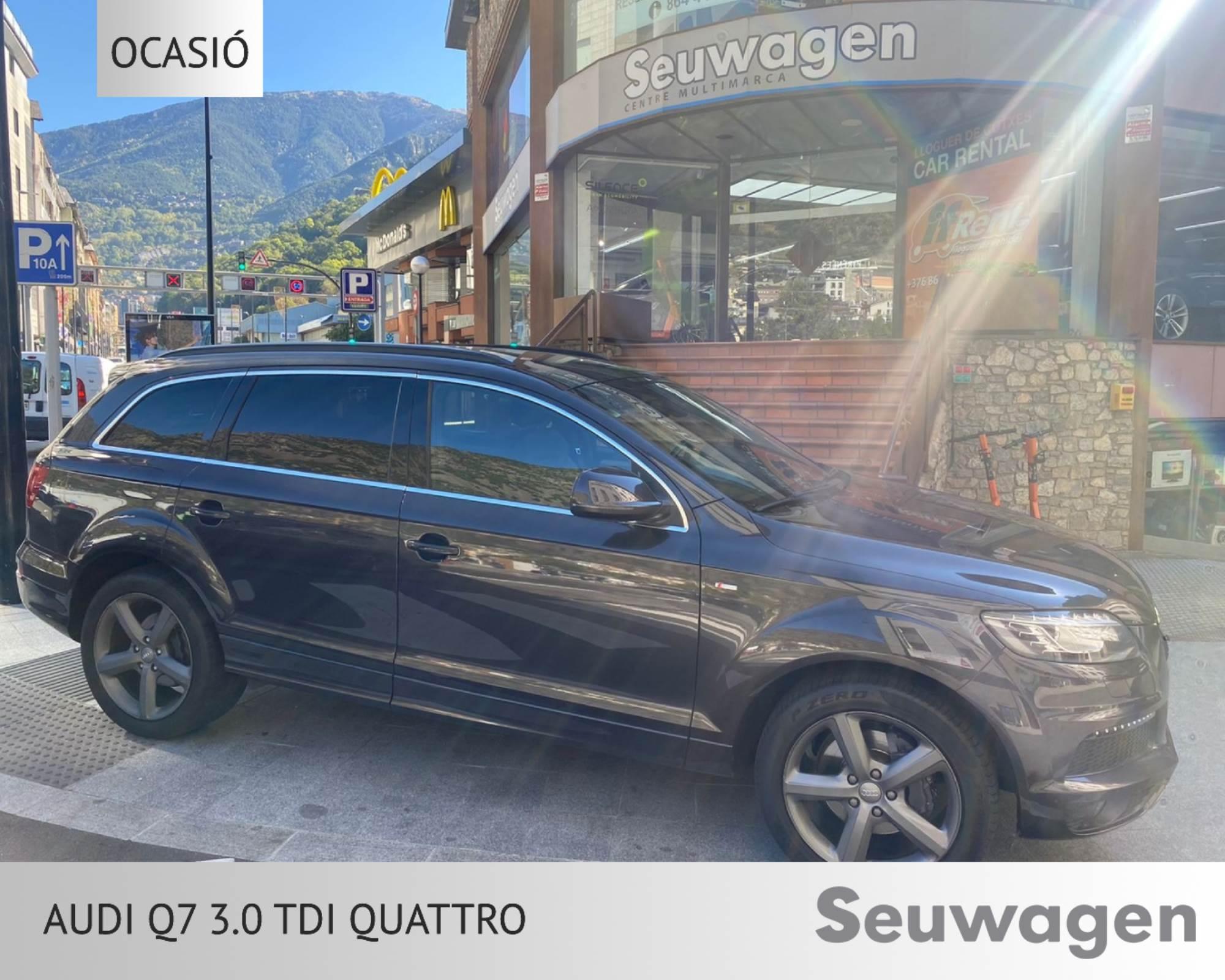 Audi - Q7 - 3.0 Tdi Quattro 3.0 Tdi Quattro Dièsel  2013  198.000 Km