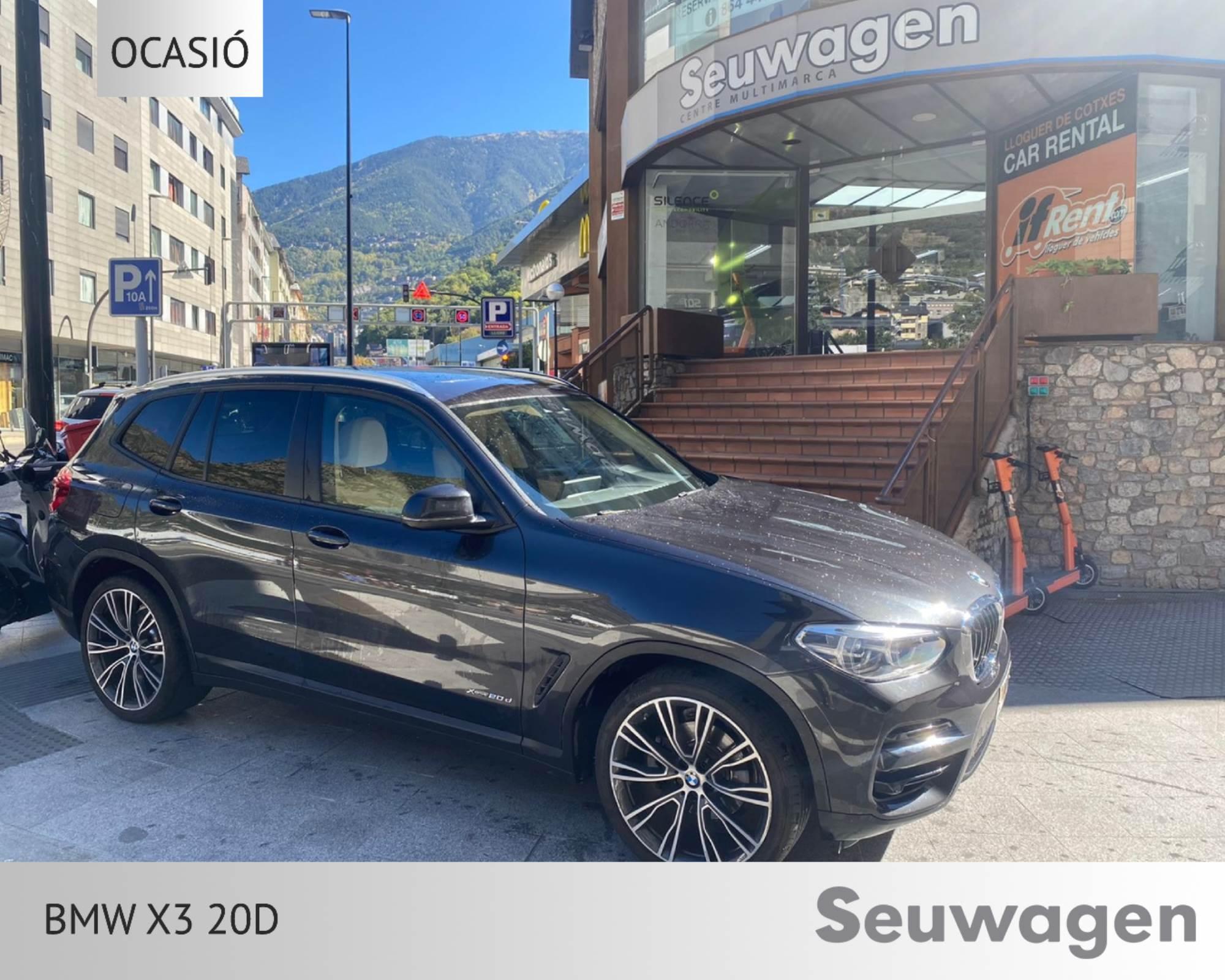BMW - X3 - Xdrive 20D   37.900 €