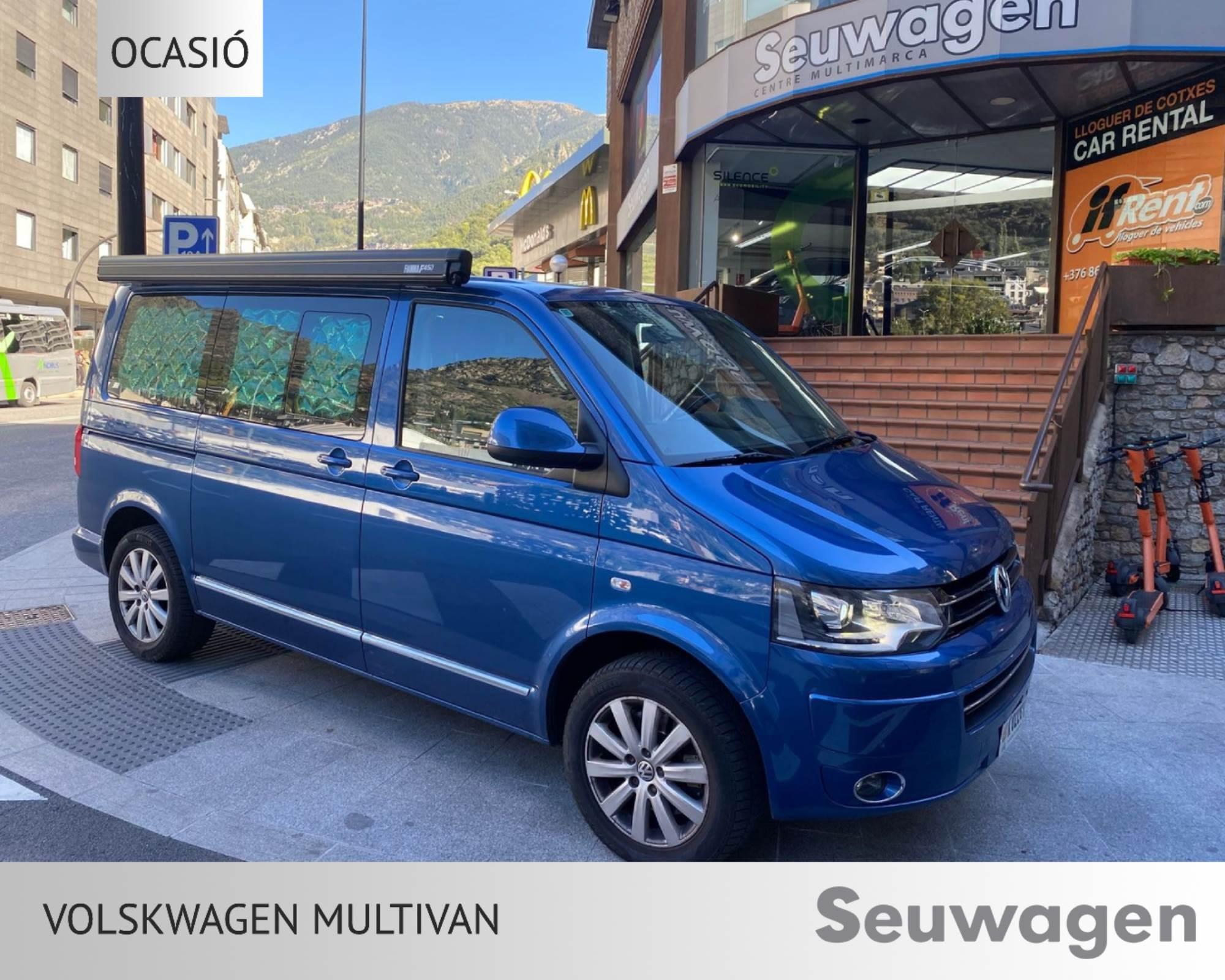 Volkswagen - Multivan T6 - 4 MOTION 4 MOTION Dièsel  2014  130.000 Km